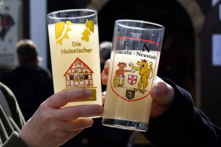 Wine in Germany: typical wine glasses