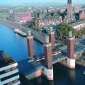 Schwanentorbrücke in Duisburg