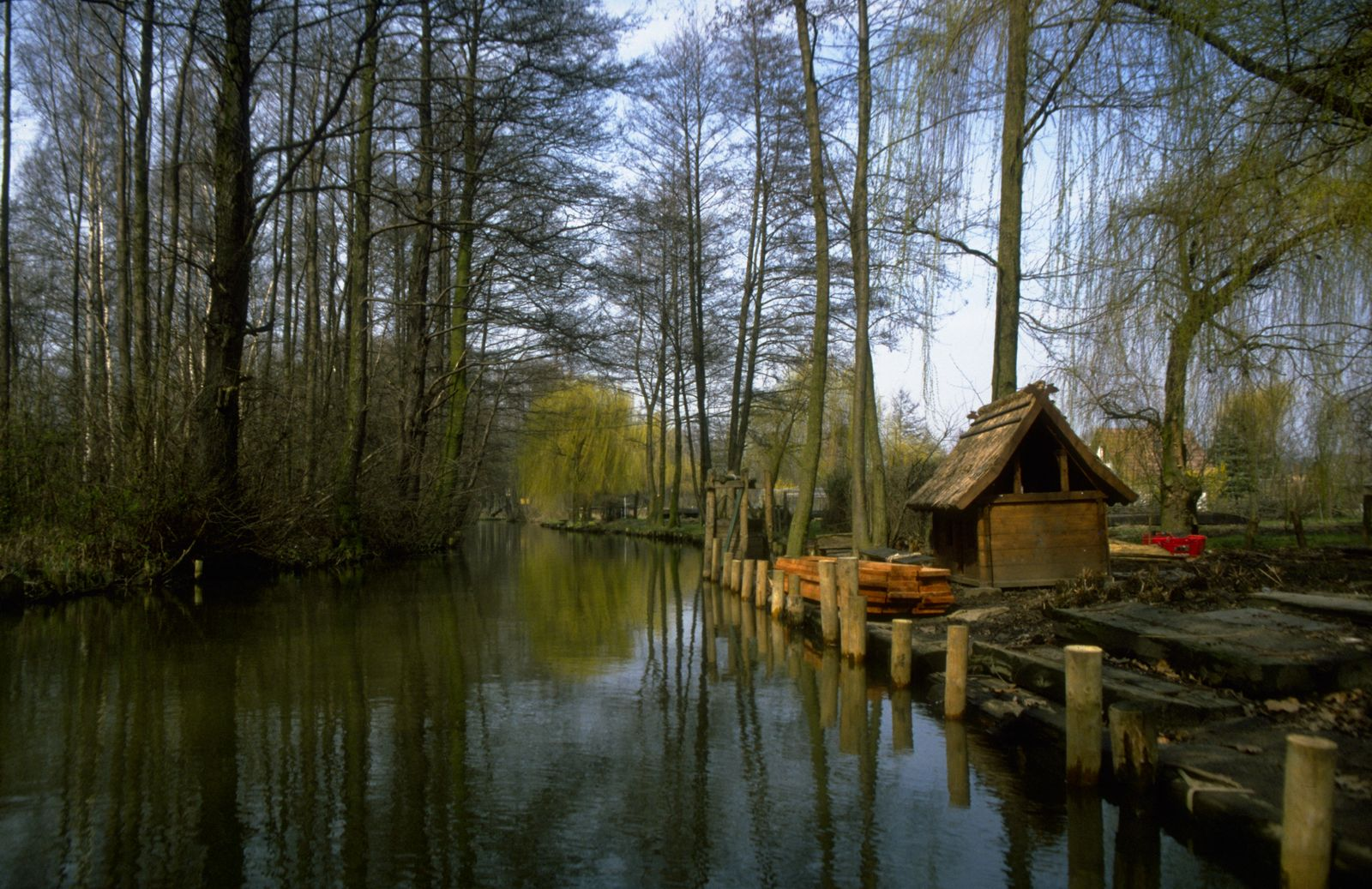The Spreewald, south-east of Berlin