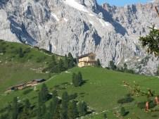 The hut up by Schachen Bavaria