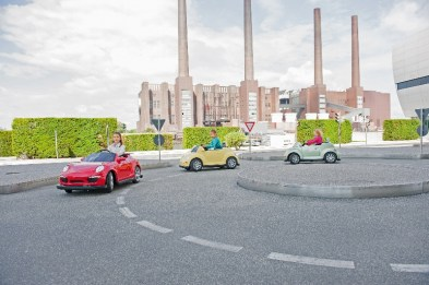 A family favourite: fun-sized Beetles at Autostadt in Wolfsburg