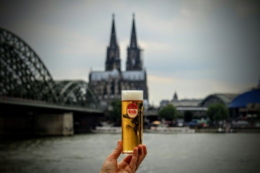 Kölsch and the Cologne cathedral