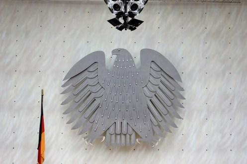 Federal Eagle still flies in Bonn