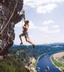 freeclimbing Saxon Switzerland