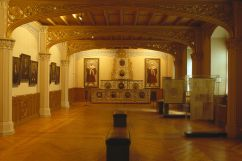 interior of Luther house Lutherstadt Wittenberg