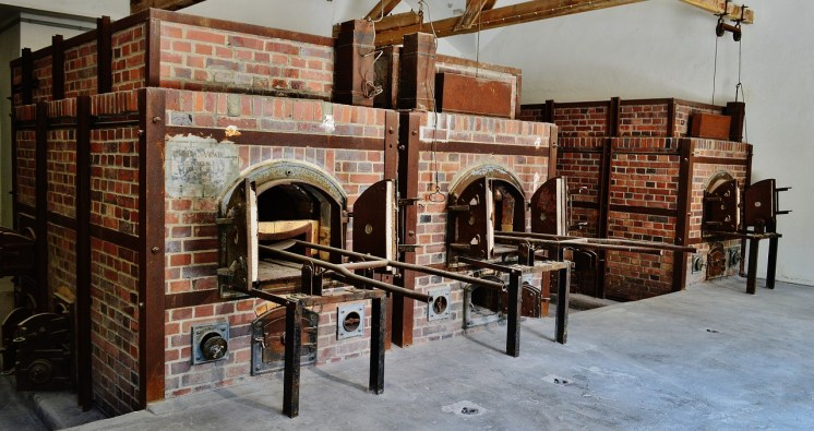 The Dachau ovens were used primarily for body disposal