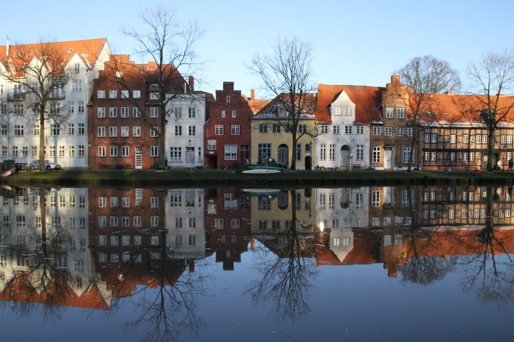 Lübeck's architecture betrays its Hanseatic past