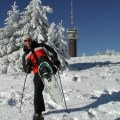 snow shoes on the Feldberg, Black Forest ski