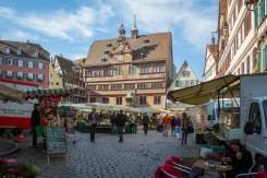 Tübingen's Marktplatz and Town Hall