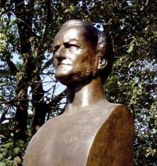 Wagner bust in Leipzig
