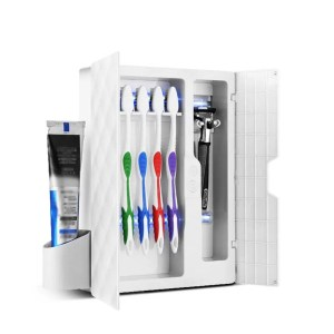 The SaniBox - Personal Hygiene Sterilizer Perfect for sterilizing your personal hygiene items such as toothbrushes, shavers and more. Get rid of 99% of germs in minutes with the SaniBox! Makes an amazing gift during these challenging times.