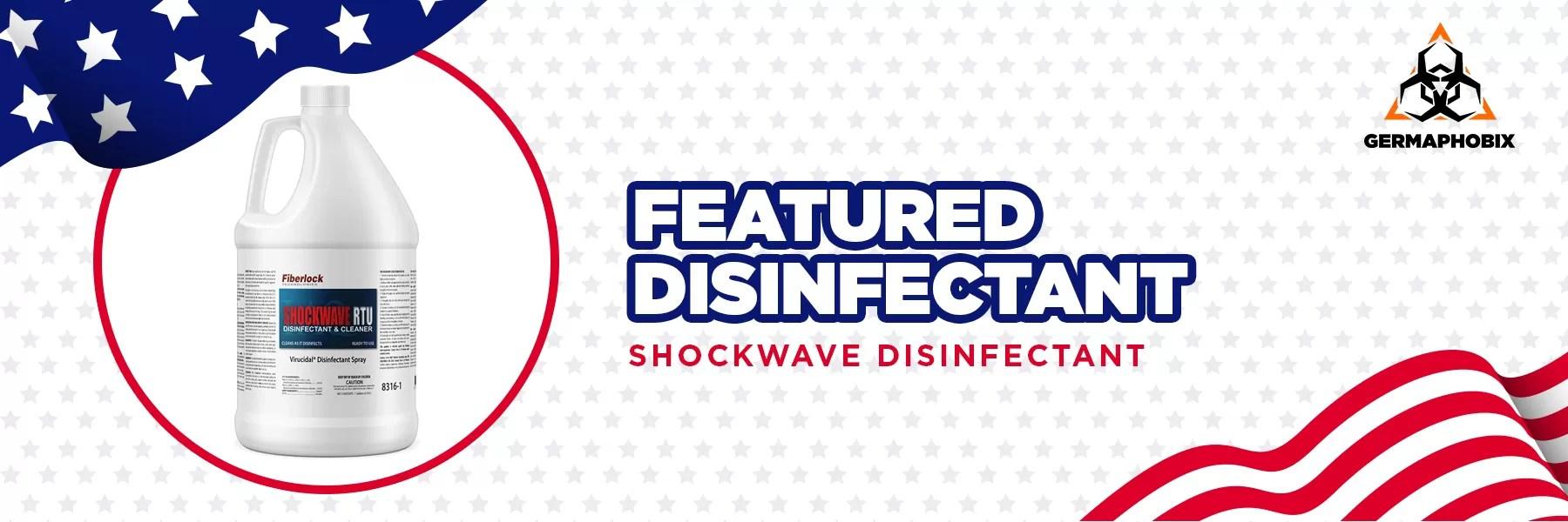 Fiberlock Shockwave RTU Disinfectant