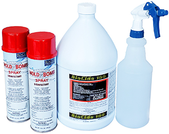 Mold Bomb Biocide Deep Clean Kit
