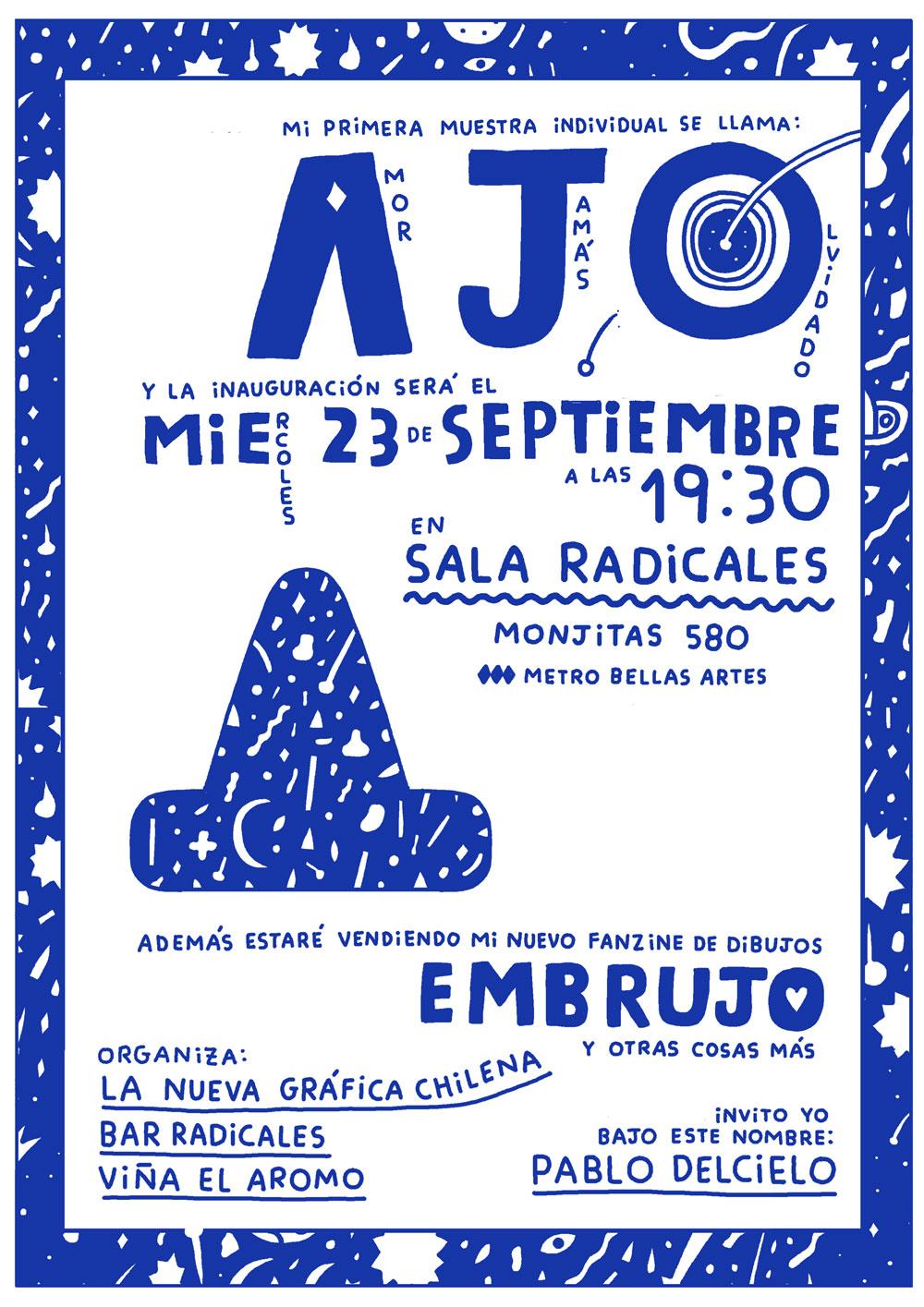 Pablo Delcielo presenta AJO