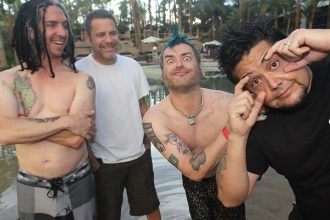 El Melvin, el Smelly, el Fat Mike y el Hefe