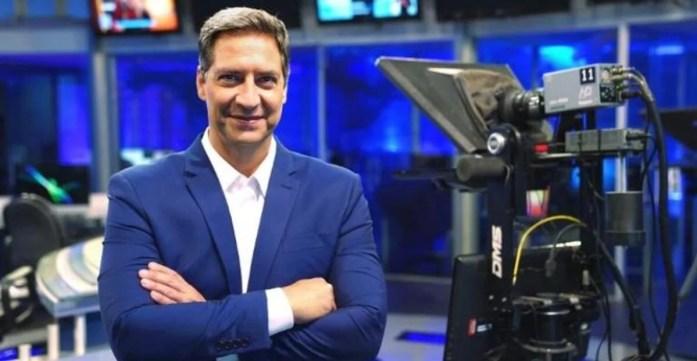 Luís Ernesto Lacombe na RedeTV (Foto: Reprodução)
