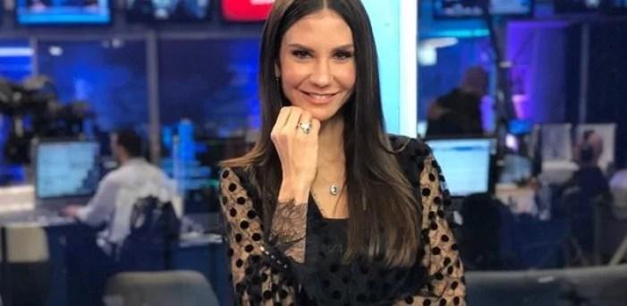 Amanda Klein é integrante de programa da RedeTV (Foto: Reprodução)