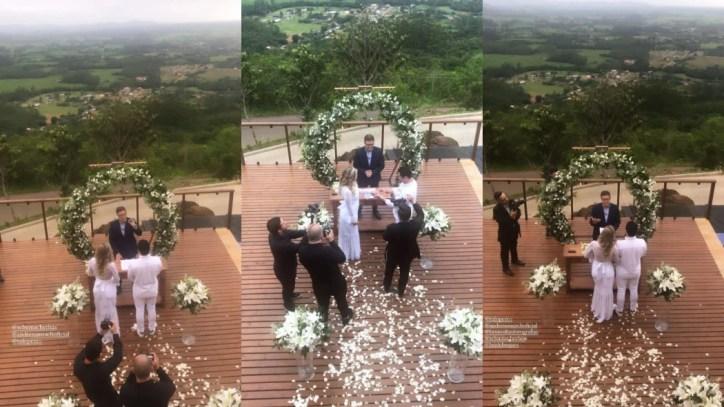Andressa Urach e Thiago Lopes se casam em cerimônia sem convidados (Foto: Reprodução/Instagram)