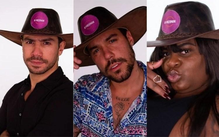 A Fazenda 12 enquete: Mariano, Lipe ou Jojo, quem fica? Vote e veja o resultado! (Foto: Reprodução)