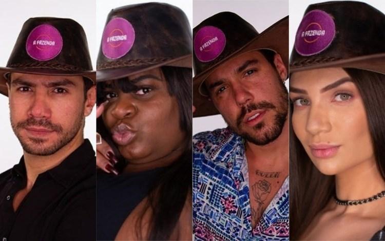 A Fazenda 12 enquete: Mariano, Jojo, Lipe e Stefani, quem fica? Vote e veja o resultado! (Foto: Reprodução)