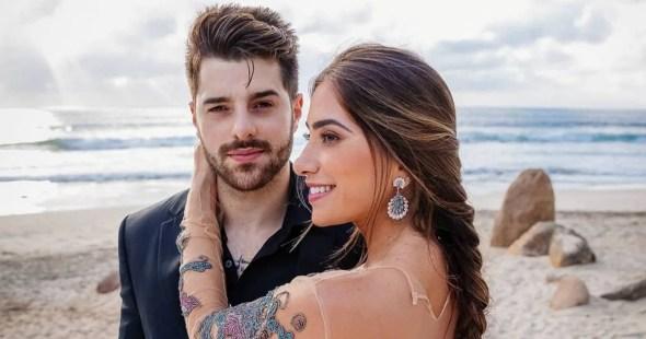Alok e sua esposa, Romana Novais (Foto: Reprodução)