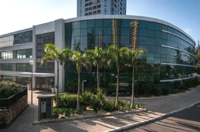 Sede da Fox Sports, da Disney, no Rio de Janeiro (Foto: Reprodução)