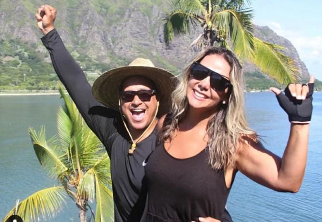 Xanddy e Carla Perez (Foto: Reprodução)
