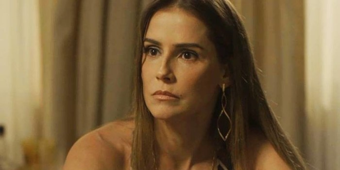 Deborah Secco se revoltou após internauta comparar Eduardo Galvão a Marcius Melhem (Foto: Reprodução/Globo)