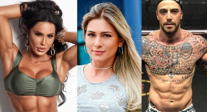 Gracyanne Barbosa, Lívia Andrade e Felipe Titto são prováveis no BBB21 (Foto: Reprodução)