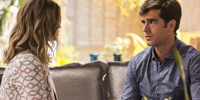Jéssica se desesperada com decisão de Felipe em Haja Coração (Foto: Ellen Soares/Globo)
