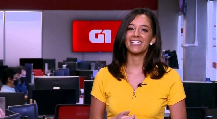 Luiza Tenente desejou energias positivas para Fátima Bernardes (Foto: Reprodução)