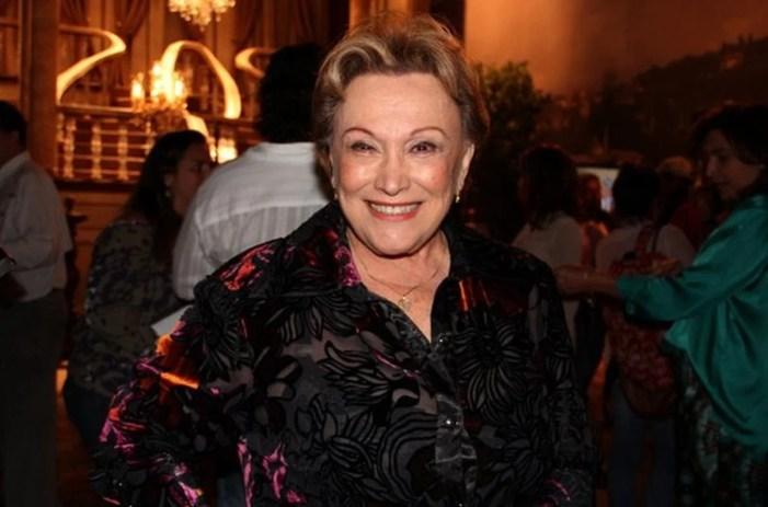 Nicette Bruno terá cinzas colocadas em jazigo da família (Foto: Reprodução)
