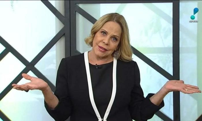 Claudete Troiano em seu programa na RedeTV (Foto: Reprodução)