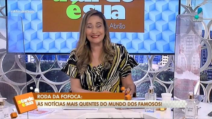 Sonia Abrão recusa convite de Geraldo Luís (Foto: Reprodução)