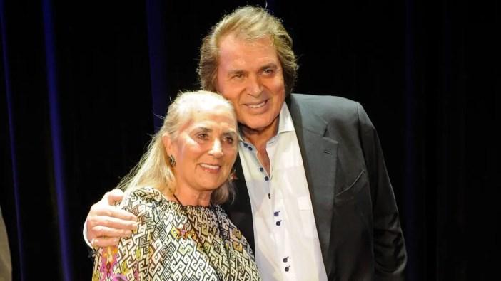 Patricia Healey, e seu marido, o cantor Engelbert Humperdinck (Foto: Reprodução)