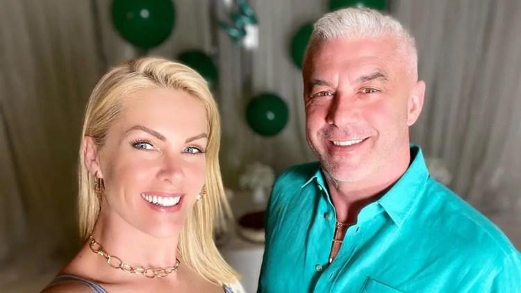 Ana Hickmann e seu marido, Alexandre Correa (Foto: Reprodução)