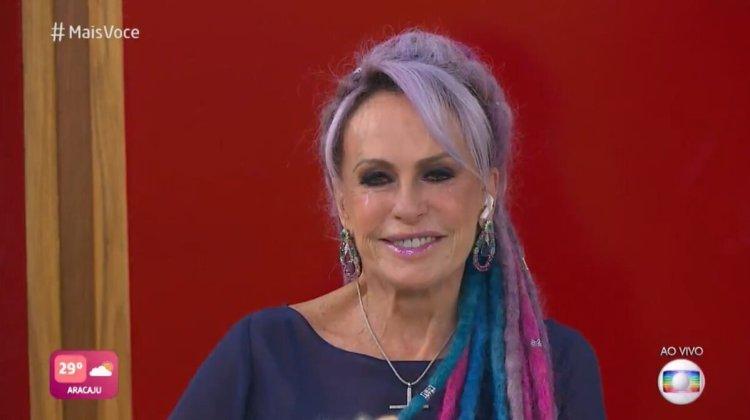 Ana Maria Braga, apresentadora do Mais Você da Globo, fala sobre eliminação de Karol Conká do BBB21 (Foto: Reprodução)