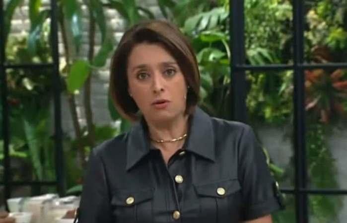 Cátia Fonseca na Band (Foto: Reprodução)