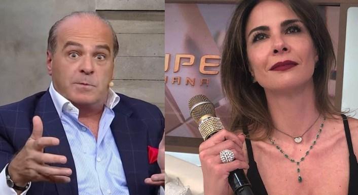 Marcelo de Carvalho e Luciana Gimenez (Foto: Reprodução)