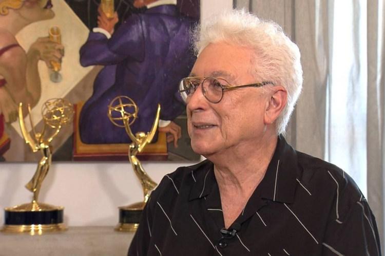 Aguinaldo Silva, ex autor da Globo, participa de programa da Record (Foto: Reprodução)
