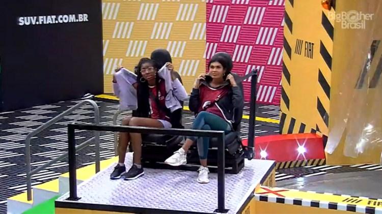 BBB21: Camilla e Pocah comentam sobre atitude de Carla Diaz (Foto: Reprodução)