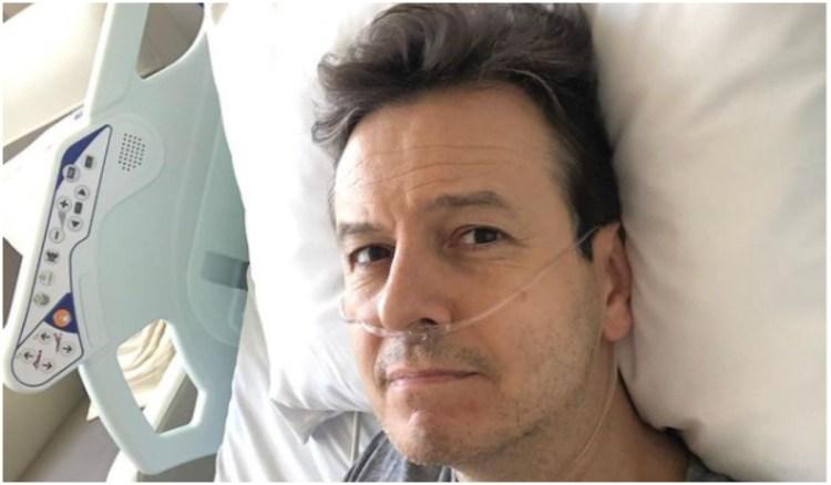 Celso Zucatelli está internado para tratar a covid (Foto: Instagram)