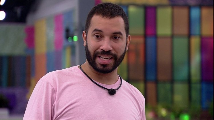 BBB21: Gilberto faz parte do G3 no reality (Foto: Reprodução)