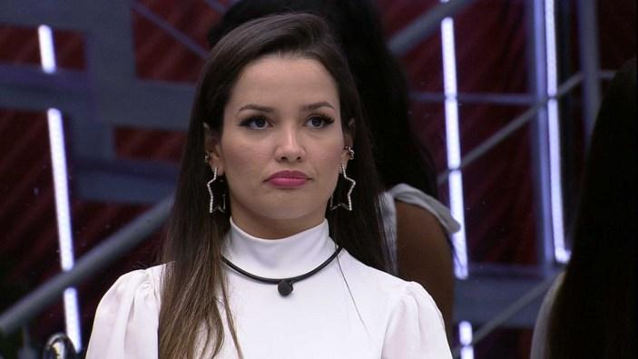 BBB21: Juliette fica triste pelas atitudes de Fiuk com ela (Foto: Reprodução)