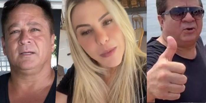 Poliana Rocha fala sobre morte de primo do Leonardo (Foto: Reprodução)