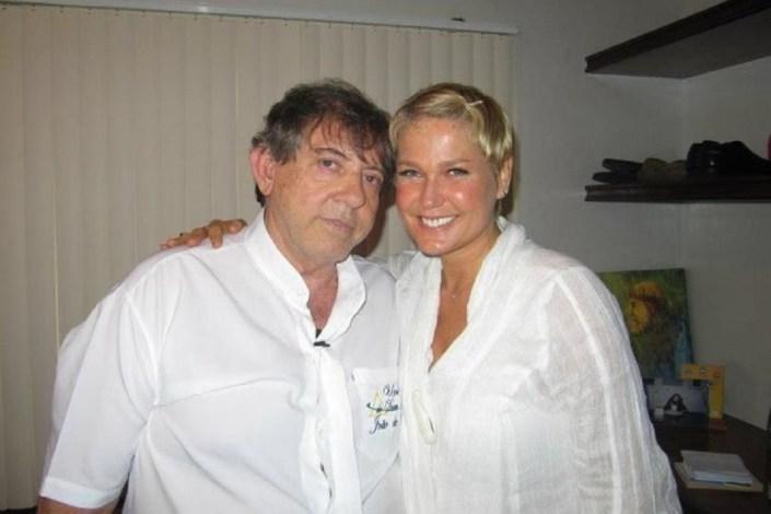 João de Deus e Xuxa (Foto: Reprodução)