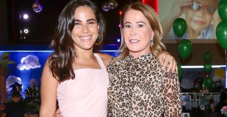 Zilu Godoi e Wanessa, sua filha, fruto do relacionamento com Zezé di Camargo (Foto: Reprodução)