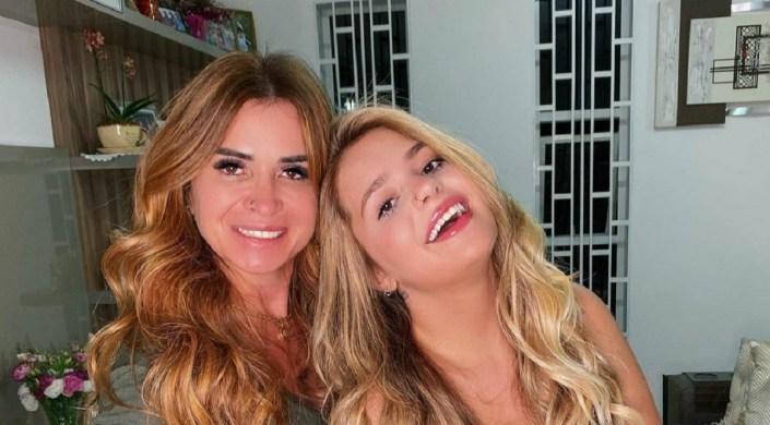 Viviane e Viih Tube do BBB21 (Foto: Reprodução)