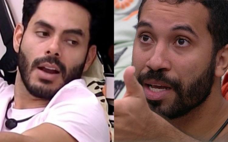 Rodolffo e Gil no BBB21 (Foto: Divulgação)