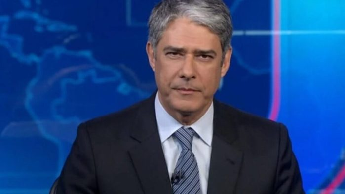 William Bonner, titular do Jornal Nacional da Globo (Foto: Reprodução)